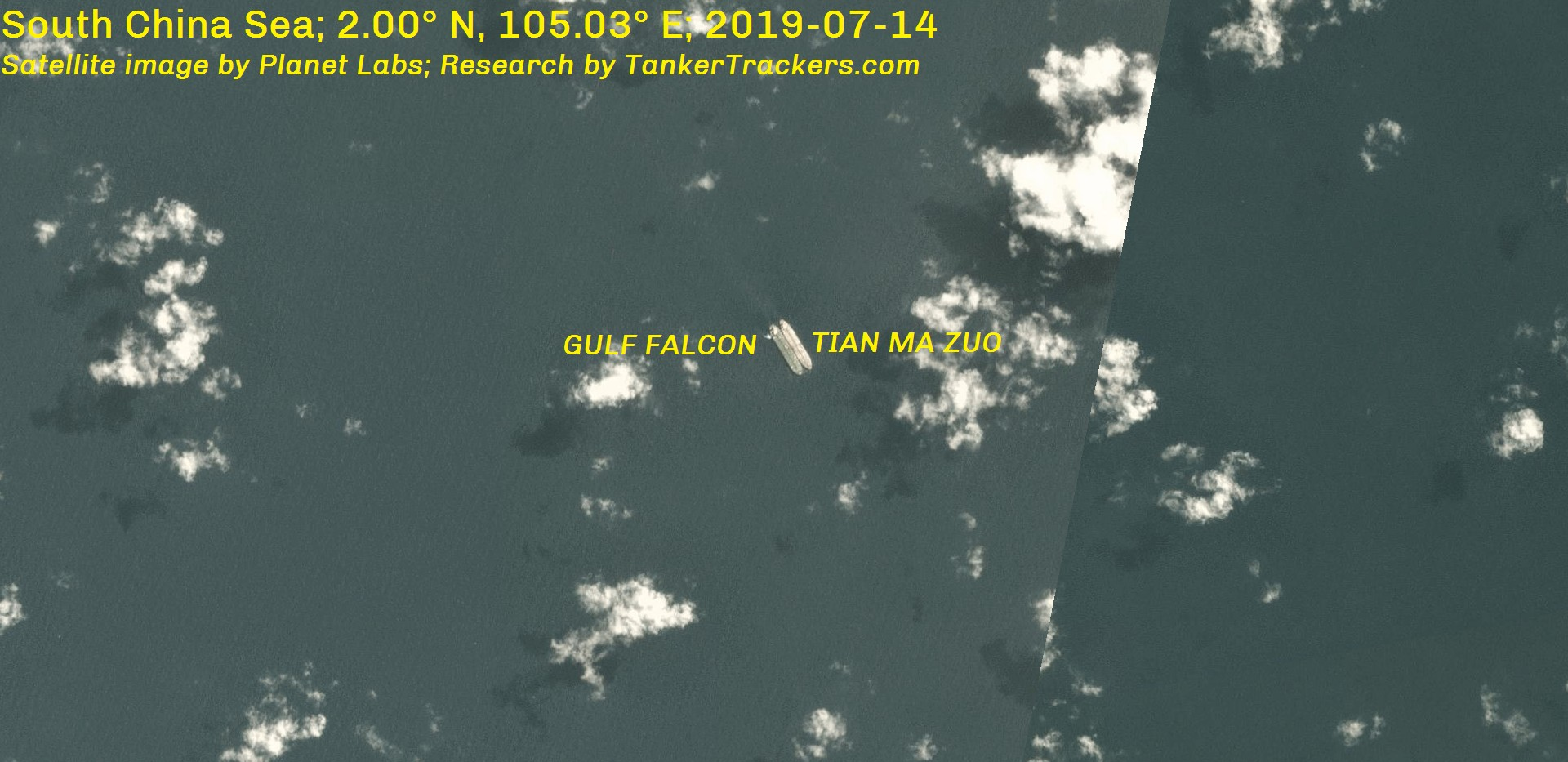 2019-07-14-TIAN-MA-ZUO-STS-with-GULF-FALCON-in-South-China-Sea