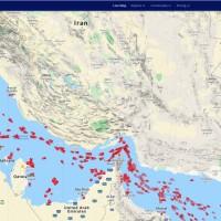 Iran standard mt map